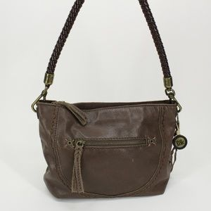 The Sak Mauve Leather Purse